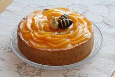 Mustikkasuu: Sitruunainen persikka-rahkakakku