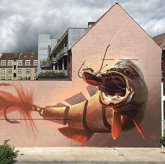 graffiti fish - Поиск в Google