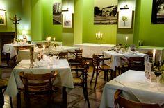 Fotografia przedstawiająca wnętrze restauracji