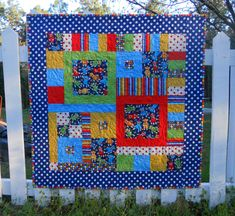 Super adorable baby quilt and perfect size!