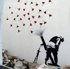 FLOWER BOMBS - #Creative #Streetart - be artist be art