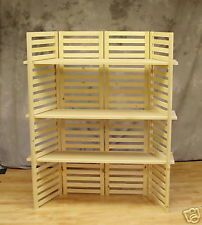 Just need to find some old bifold wooden doors, will make nice display for baskets