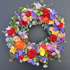Wianek kwiatowy Nr 511