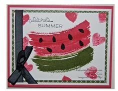 Watermelon Card wm