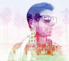 Double Exposure Portraits by Alon Avissar   Inspiration Grid   Design Inspiration