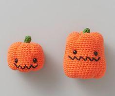 クロバーかぎ針で編むあみぐるみ<かぼちゃ> | 手づくりレシピ | クロバー株式会社 pumpkin