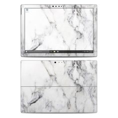 DecalGirl Microsoft Surface Pro 4 skins feature vibrant full-color artwork that helps protect the Microsoft Surface Pro 4 from minor scratches and abuse without adding any bulk or interfering with the device's operation. This skin features the artwork White Marble by Marble Collection - just one of hundreds of designs by dozens of talented artists from around the world.