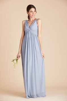 Shop Birdy Grey Lianna bridesmaid dress in Dusty Blue for under $100. The dusty blue bridesmaid dress features a raised empire waist that gently grazes over curves, and is made of a breathable stretch mesh fabric, perfect for your bridal party. Maternity Bridesmaid Dresses, Dusty Blue Bridesmaid Dresses, Affordable Bridesmaid Dresses, Wedding Dresses, 6 Months Pregnant, Bodice, Neckline, Mesh Fabric, Fitness Models
