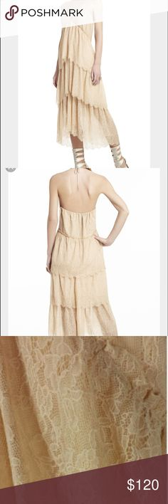 "BCBGMAXAZRIA Kat Lace Tiered  ""Parfait"" Dress New dress without tags BCBGMaxAzria Dresses Midi"