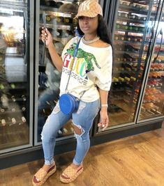 Cute Swag Outfits, Chill Outfits, Dope Outfits, Trendy Outfits, Summer Outfits, Fashion Outfits, Boujee Outfits, Black Girl Fashion, Dope Fashion