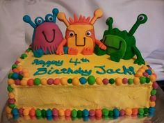 midnight magic bakery Monster birthday cake