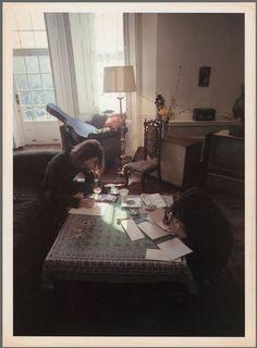 John & Yoko Writing