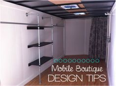 10 tips for designing your own fashion truck or mobile boutique.