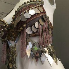 Assuit Bra Tribal Fusion bellydance costume 36C
