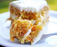 Oven baked fruity carrot cake.This one of my favorite cakes.Very moist and delicious-worth giving it to do!