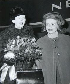 Bette Davis and Rosalind Russell