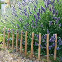 Fabriquer des minis clôtures pour le jardin
