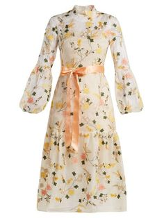 Shop our edit of women's designer Clothing from luxury designer brands at MATCHESFASHION Pretty Outfits, Pretty Dresses, Chifon Dress, Modest Fashion, Fashion Dresses, Sheer Gown, Looks Chic, Feminine Dress, Erdem