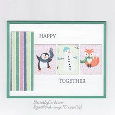 Stampin Pretty, Stampin Up, Holiday Cards, Christmas Cards, I Love Mondays, Mary Fish, Happy Together, Card Making Inspiration, Pretty Cards