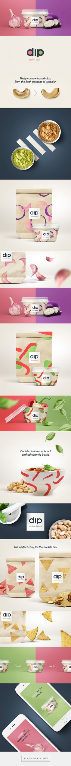 Double Dips - Daily Package Design InspirationDaily Package Design Inspiration | - created via https://pinthemall.net