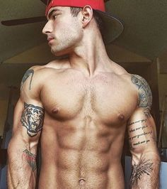 Hot men naked with tattoo, porn pros nude yoga