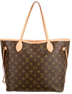 We are absolutely all about this Louis Vuitton Monogram Neverfull MM.