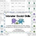 Monster Social Skills Packet