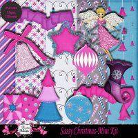 Sassy Christmas-Mini Kit