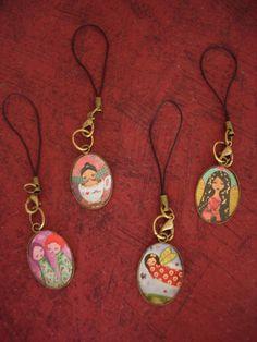 Unique Vintage Handmade art mobile charm Choose Yours by eltsamp, $15.00