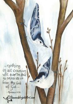 Bible Promises, Gods Promises, Bible Quotes, Bible Verses, Scriptures, Sending You A Hug, Original Paintings, Bird Paintings, Back To Reality