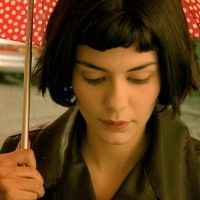 Audrey Tautou as Amelie Poulain French Teacher, Teaching French, Mtv, Belle France, Audrey Tautou, French Movies, French Classroom, French Resources, Under My Umbrella
