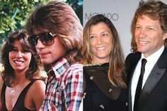 Ka 'Ohana Bon Jovi -Jon Bon Jovi, Jr. (John Francis Bongiovi, Jr.) & (High School Sweetheart) Dorothea Hurley - Married since 29 'Apelila 1989