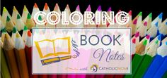 Barb Szyszkiewicz, OFS reviews two new coloring books for adults. Pauline Books… Connecting With God, Catholic Crafts, Prayer Book, Gods Creation, Coloring Books, Prayers, Barbie, Notebook, Notes
