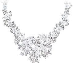 White gold Chalcedony Diamond Necklace - Piaget Luxury Jewellery G37LH200