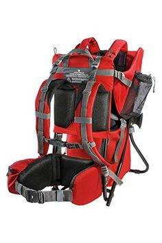 Ferrino Caribou Child Carrier, Red, 6-24 Months