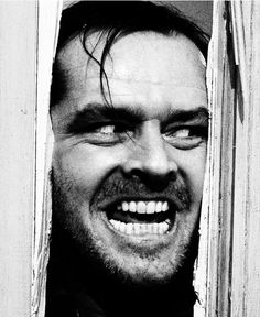 The Shining Jack Nicholson Poster Scary Movies, Great Movies, Horror Movies, The Shining Poster, The Shining Film, Jack Nicholson The Shining, Arte Cholo, Phineas Et Ferb, Tv Movie