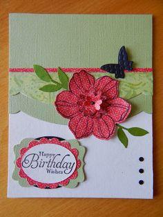 Dianne's cards--SU Secret Garden