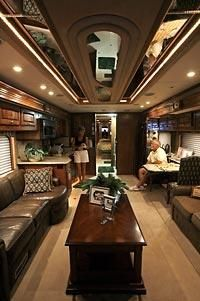 Luxury RV Interiors | ... increasingly drawn to luxury RV lifestyle | Seattle Times Newspaper