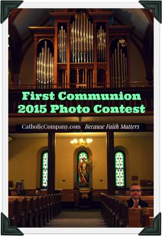 Share your best #FirstCommunion photos with us! Email your photos to social@catholiccompany.com now through June 14 for a chance to win one of four gift card prizes to CatholicCompany.com. Find all the contest details here. We can't wait to see those smiling faces!