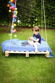 DIY: Chillen op een palletbed