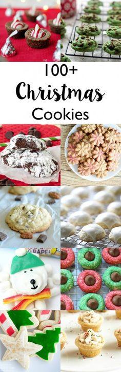 100 plus Christmas cookie recipes!
