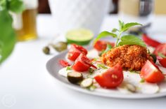 Kohlrabi Carpaccio mit veganem Mett. #vegan #glutenfrei #zuckerfrei