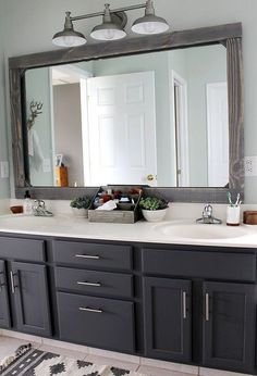 Picture Collection Website If you want to update your boring mirror without removing it look what to do instead