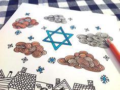 Free Hanukkah Colori