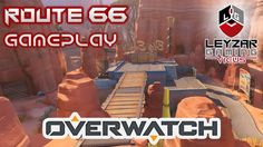 Overwatch Gameplay - Feeling the Pain on Route 66 (Escort with Soldier: 76 & Junkrat Gameplay) Soldier 76, Route 66, Looks Cool, Overwatch, Map, Feelings, Location Map, Maps