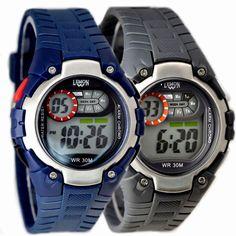 DW325G Dark Blue Watchcase Хронограф сигнализации воды Сопротивление Мальчик в девочке цифровые часы