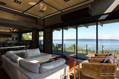 Photo of the Day (June 22, 2015) -  Architecture Spotlight # 47   Creative Sustainability   Gig Harbor, Washington  See the whole video story for Creative Sustainability here   https://youtu.be/ob5hyX_GXOw  #interiordesign #GigHarbor #livingroom