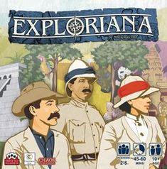 Exploriana | Board Game | BoardGameGeek