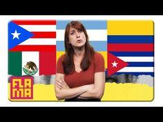 Types of Spanish Accents - Joanna Rants - YouTube