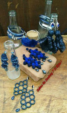 Orecchini boho stile blue Vetrina #sabinanosmokingsibijou